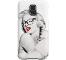 Nerdy Marilyn Samsung Galaxy Case/Skin