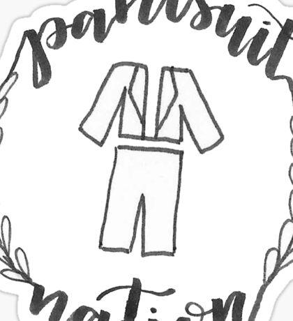 Pantsuit Nation Wreath Sticker