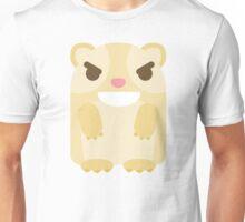 Emoji Guinea Pig Mischievous Naughty Look Unisex T-Shirt