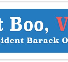 Don't Boo, VOTE!  Sticker