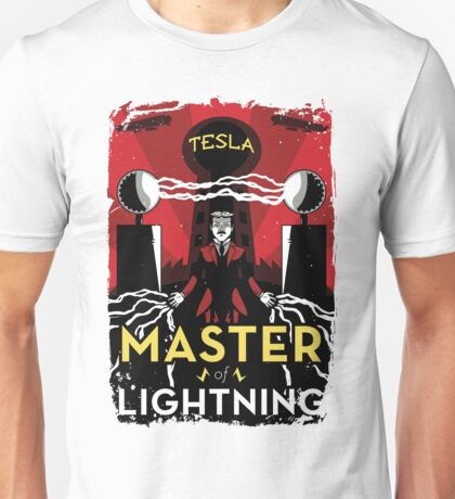 Master of Lightning Unisex T-Shirt