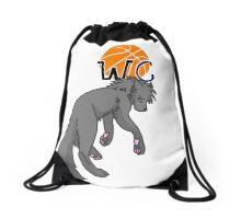Wolfe City Wolves, Basketball! Drawstring Bag