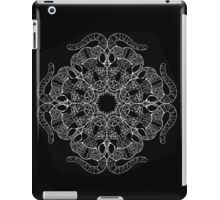 Manigordo Mandala (Ocelot) : Black and white iPad Case/Skin