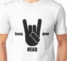 Bang Your Head Heavy Metal Unisex T-Shirt