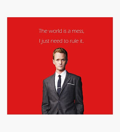 rule it Photographic Print