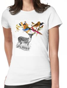 DEER BIRDY Womens Fitted T-Shirt