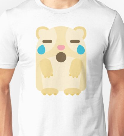 Emoji Guinea Pig Teary Eyes and Sad Look Unisex T-Shirt