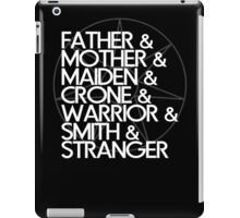 May the Seven Watch Over You iPad Case/Skin