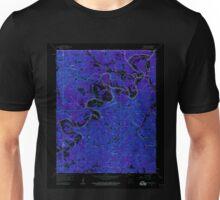 USGS TOPO Map Arkansas AR Beaver 257951 1957 24000 Inverted Unisex T-Shirt