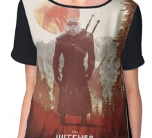 Witcher - Artwork Chiffon Top