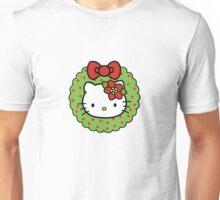 Hello Kitty Christmas Wreath Unisex T-Shirt