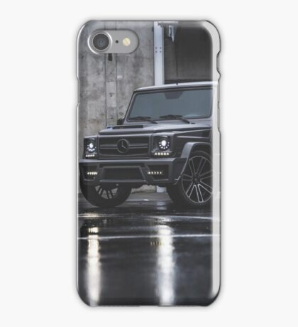 Mercedes G-Class grey iPhone Case/Skin