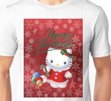 Traditional Hello Kitty Christmas Unisex T-Shirt