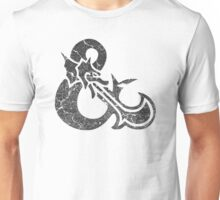 Dungeons&Dragons black ampersend Unisex T-Shirt