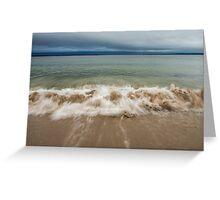 Queenslands beach, Nova Scotia Greeting Card