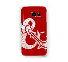 Dungeons&Dragons white ampersend Samsung Galaxy Case/Skin