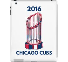 Chicago Cubs World Series Trophy 2016 iPad Case/Skin