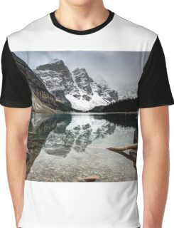 Clear Water Landscape Graphic T-Shirt