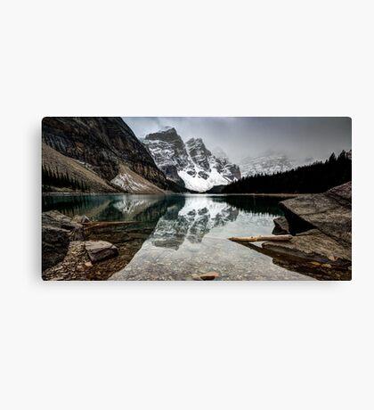 Clear Water Landscape Canvas Print