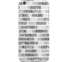 Radiohead - Creep iPhone Case/Skin