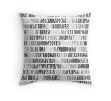 Radiohead - Creep Throw Pillow