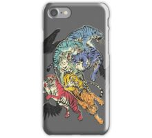 Seven Caged Tigers iPhone Case/Skin