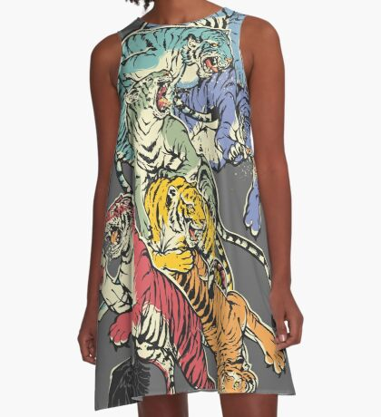 Seven Caged Tigers A-Line Dress