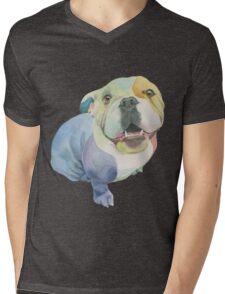 Positively Dog Street: Lola Mens V-Neck T-Shirt