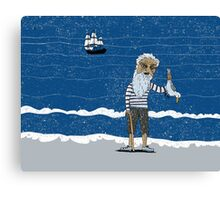 The Ancient Mariner Canvas Print