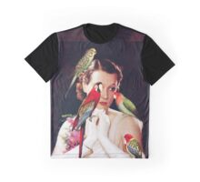 Bird Lady Graphic T-Shirt