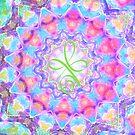 Healing mandala 7 by Lilaviolet