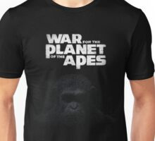 war of the planet of the apes film Unisex T-Shirt