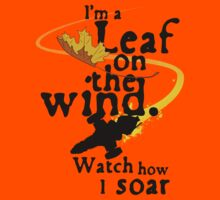 Leaf on the wind Kids Clothes