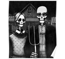 Skeleton (Even More) Gothic Poster