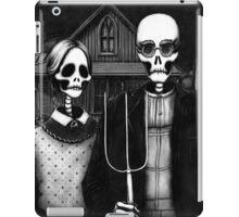 Skeleton (Even More) Gothic iPad Case/Skin