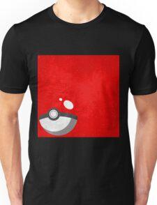 Red Pokeball Grunge  Unisex T-Shirt