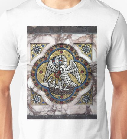 Pelican in its Piety Unisex T-Shirt