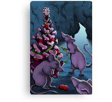 Holiday Mice Canvas Print