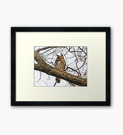 Wisdom of centuries within Framed Print