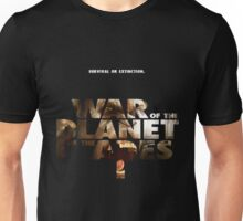 war of the planet of the apes 1 Unisex T-Shirt