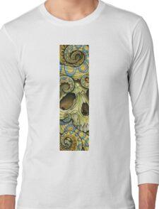 blue ring skull Long Sleeve T-Shirt