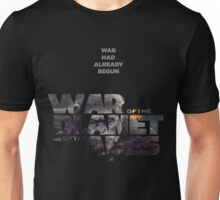 war of the planet of the apes 3 Unisex T-Shirt