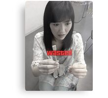 Wasted Mayuyu Hashi Metal Print