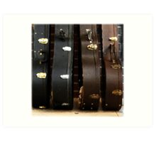 The Sound of Luggage  Art Print