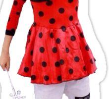 V Taehyung bts aegyo ladybug Sticker