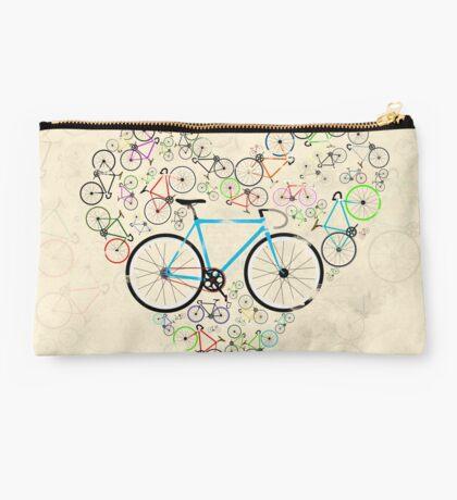 I Love My Bike Studio Pouch