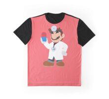 Smash Bros - Dr. Mario Graphic T-Shirt