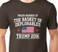 Proud Member of The Basket Deplorables Trump 2016 Unisex T-Shirt