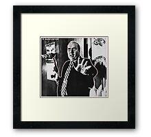 R. BUDD DWYER 666 Framed Print