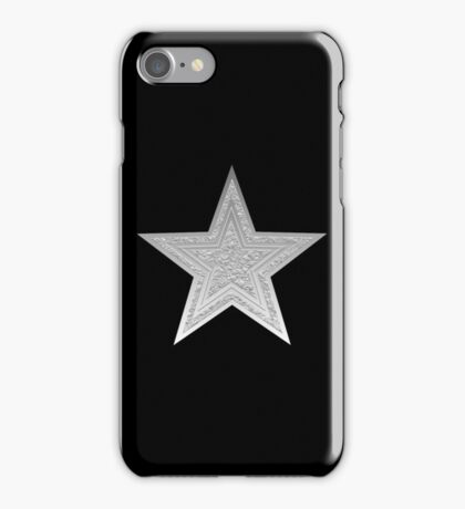 Silver Star iPhone Case/Skin